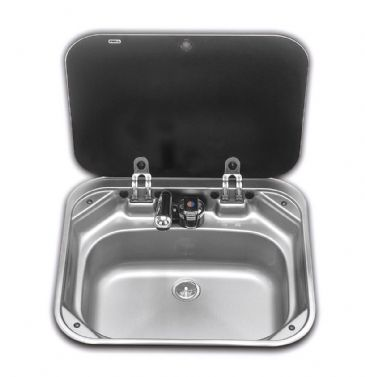 Dometic Smev Sink with Glass Lid (8005)